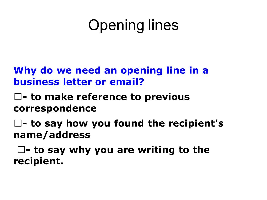 Funny presentation openers