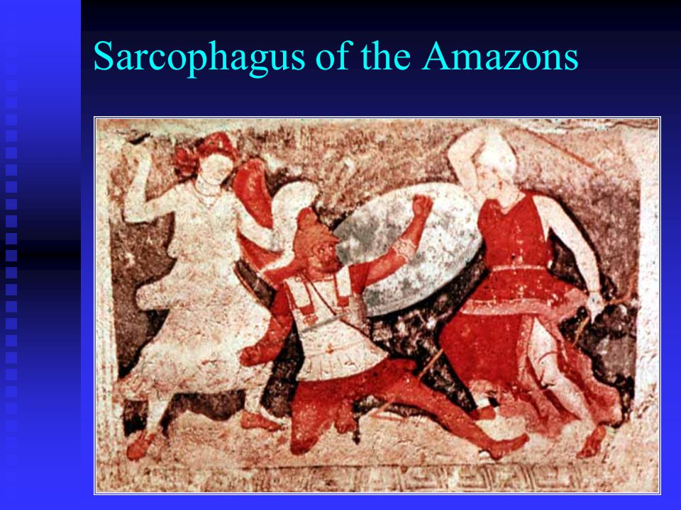 Sarcophagus of the Amazons