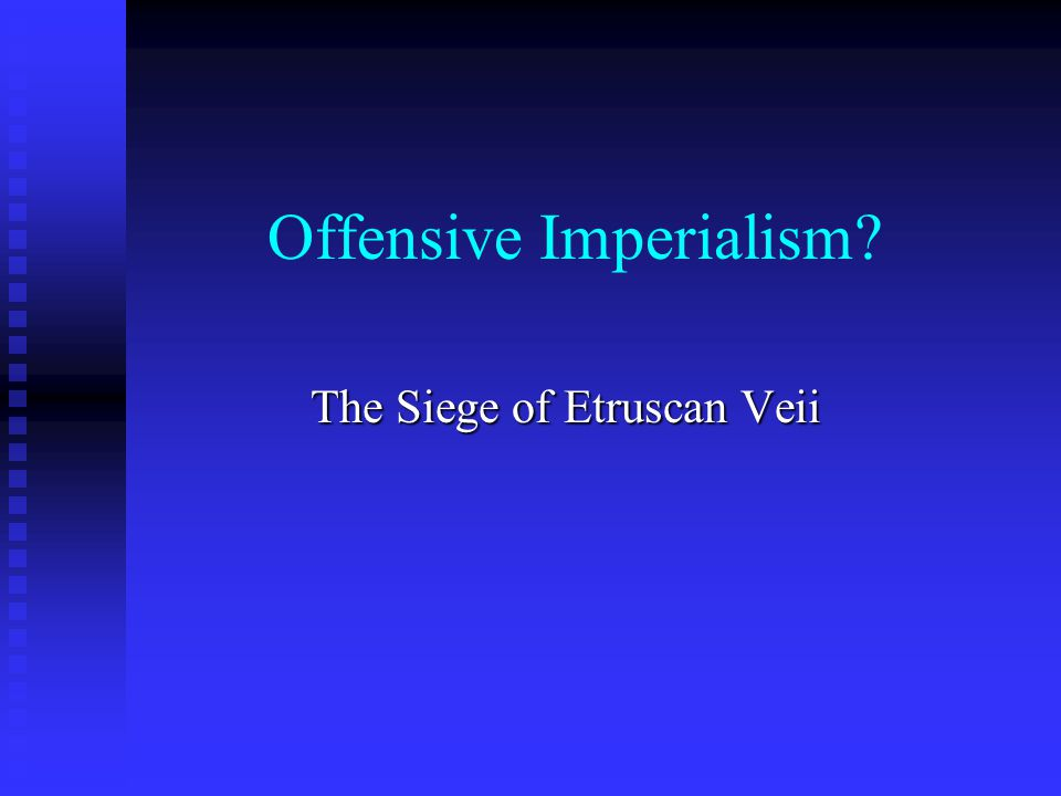Offensive Imperialism