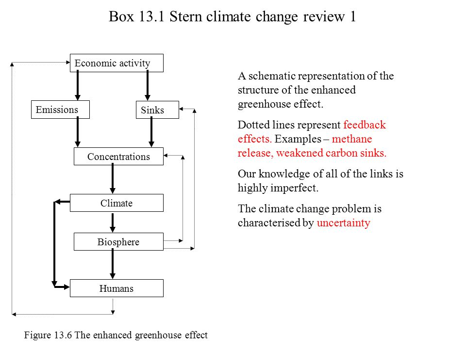 Box 13.1 Stern climate change review 1