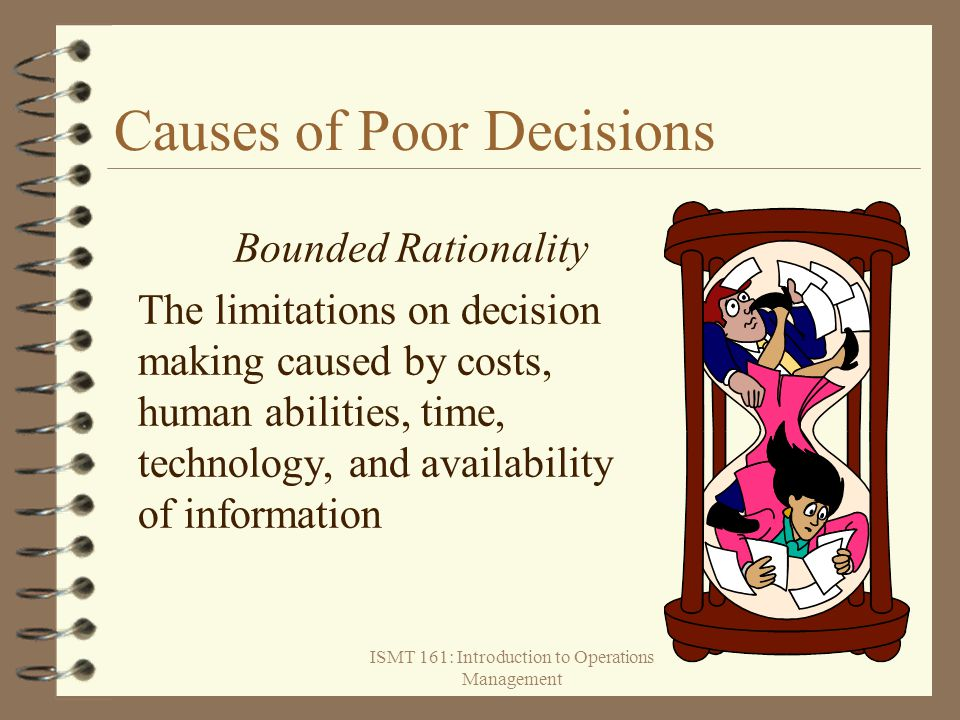 Causes of Poor Decisions