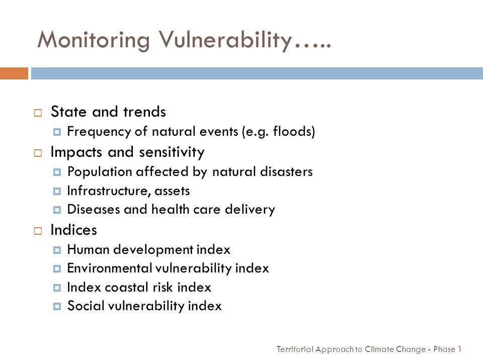 Monitoring Vulnerability…..