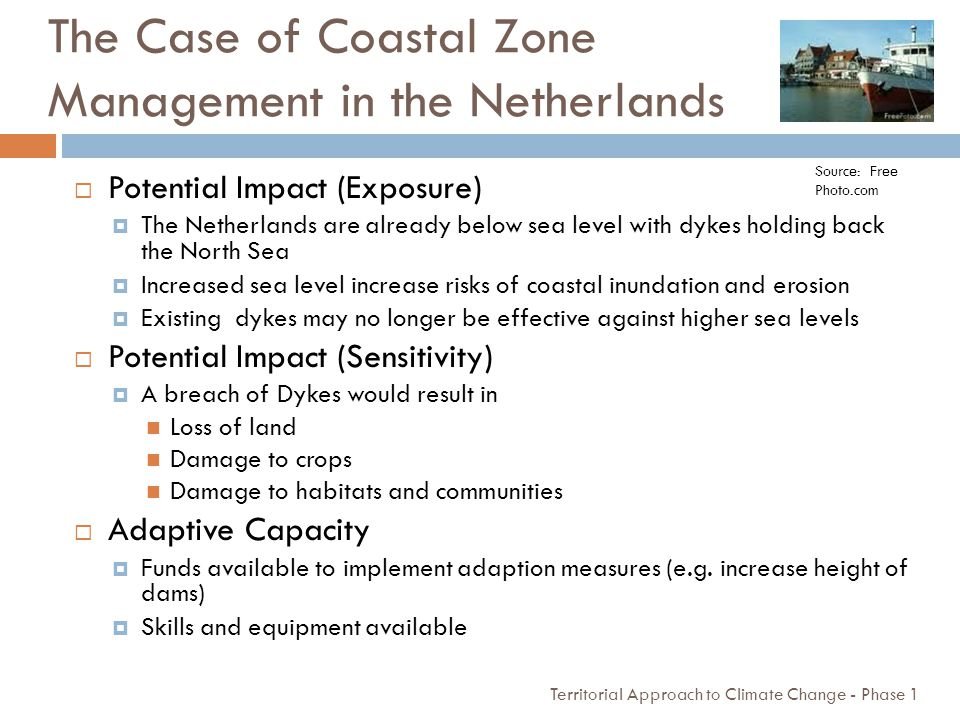 The Case of Coastal Zone Management in the Netherlands