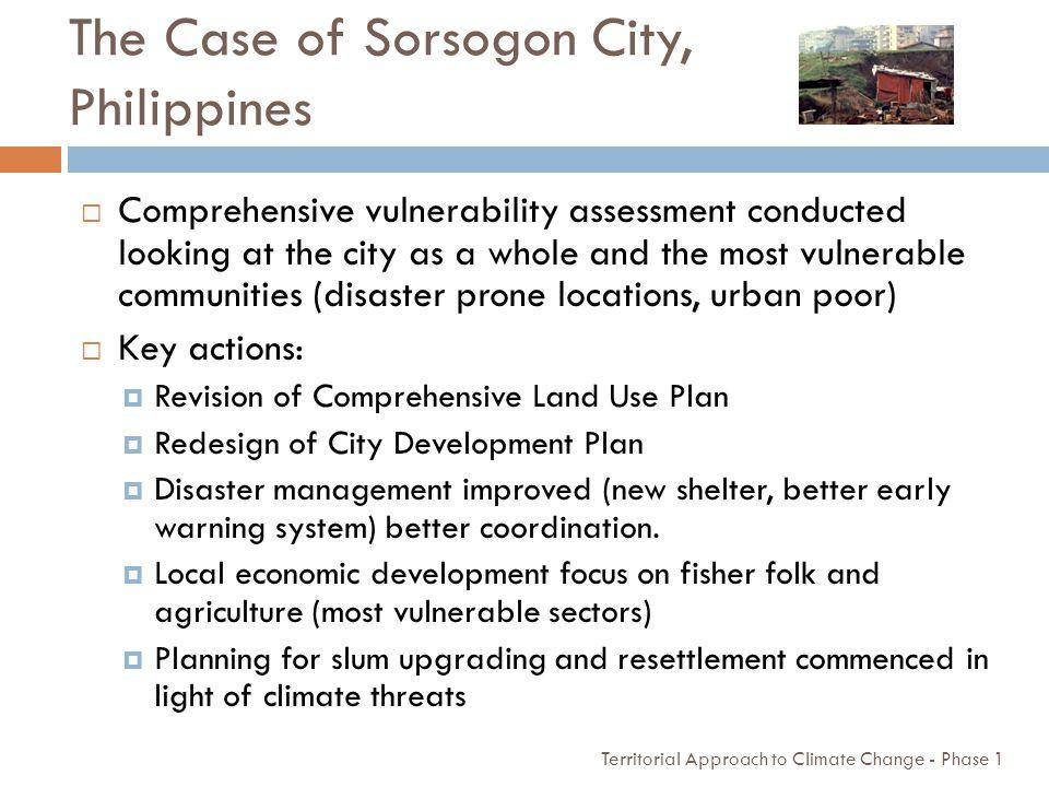 The Case of Sorsogon City, Philippines