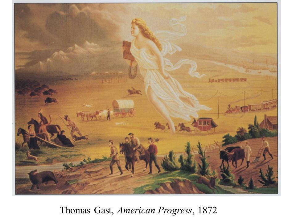 Thomas Gast, American Progress, 1872