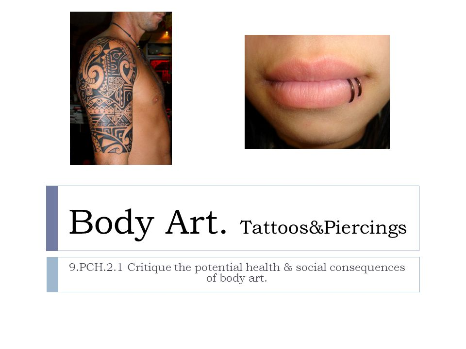 Body Art. Tattoos&Piercings