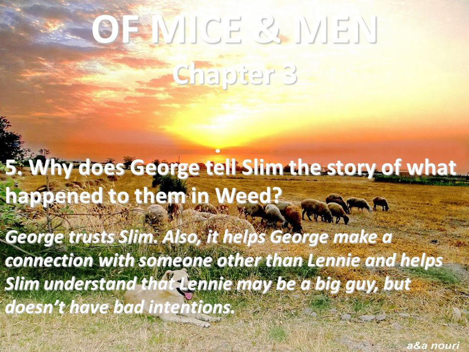 the relationship of george and lennie in a love story The relationship of george and lennie in a love story stream abortions should not be legal your favorite movies a summary of flowers for algernon a book by daniel keyes on iphone, android, ipad or smart tv.