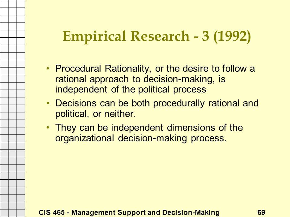 Empirical Research - 3 (1992)
