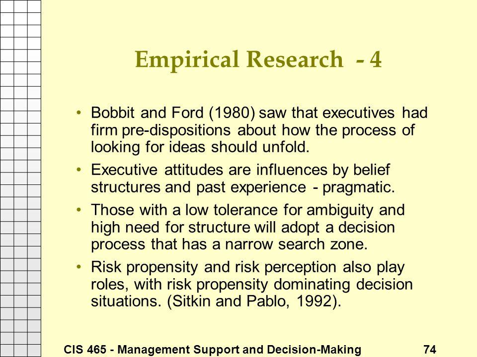 Empirical Research - 4