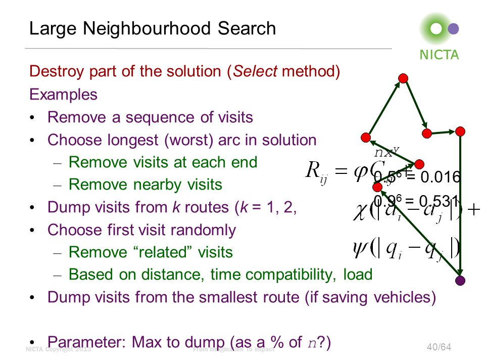 Large Neighbourhood Search