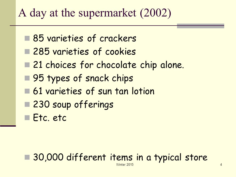 A day at the supermarket (2002)