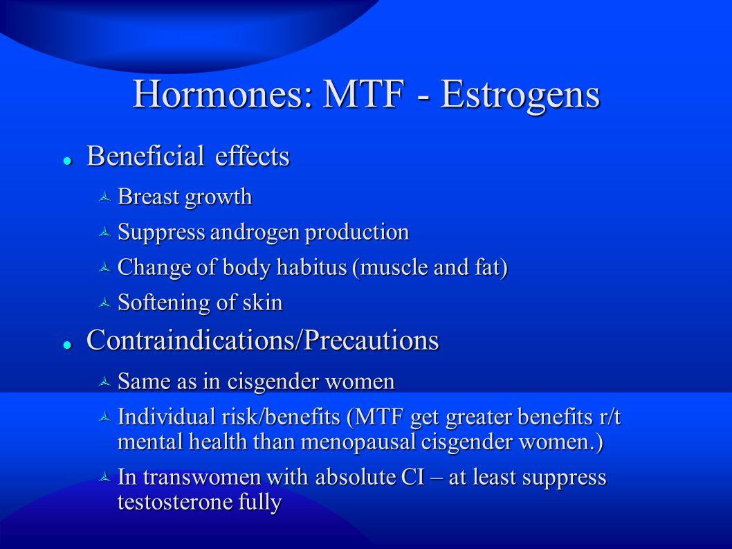 Hormones: MTF - Estrogens