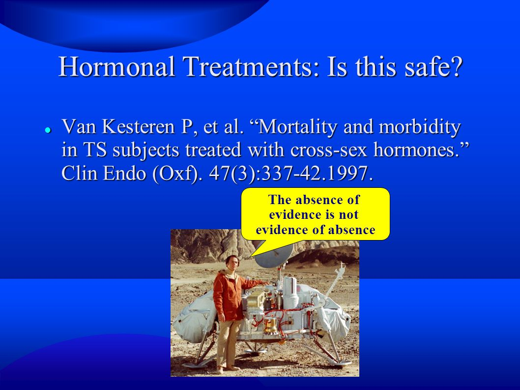 Hormonal Treatments: Is this safe
