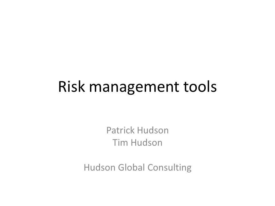 Patrick Hudson Tim Hudson Hudson Global Consulting