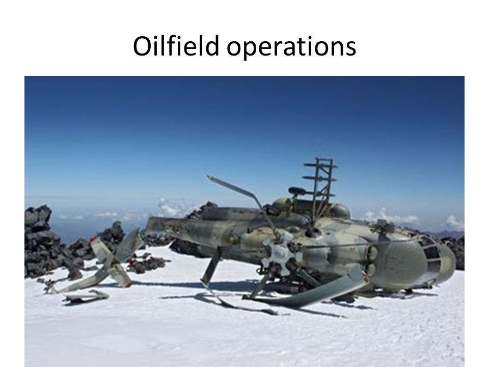 Oilfield operations