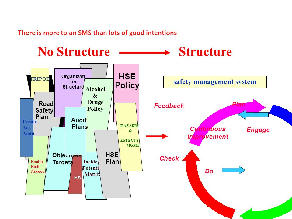 No Structure Structure HSE Policy