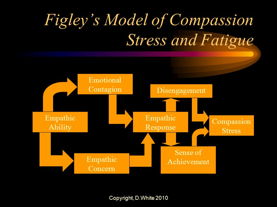Figley's Model of Compassion Stress and Fatigue