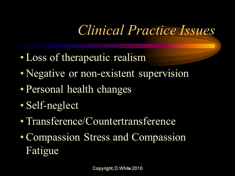 Clinical Practice Issues