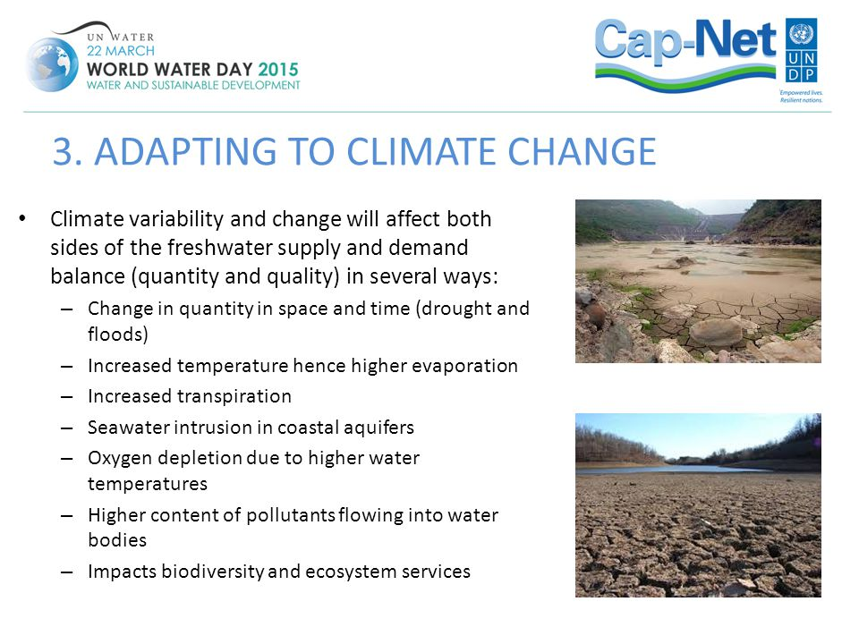3. ADAPTING TO CLIMATE CHANGE