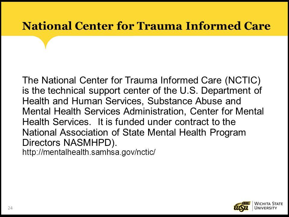 National Center for Trauma Informed Care