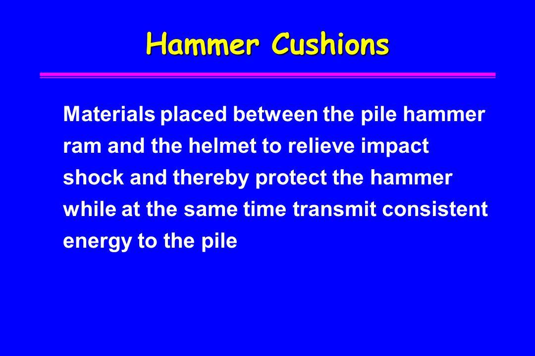 Hammer Cushions
