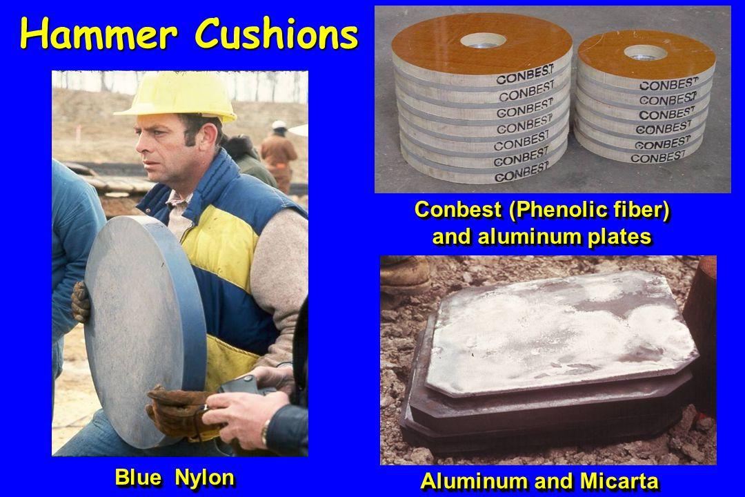 Conbest (Phenolic fiber) and aluminum plates