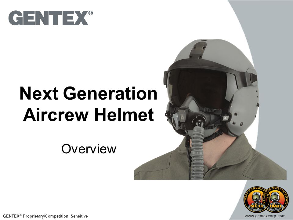 Next Generation Aircrew Helmet Overview