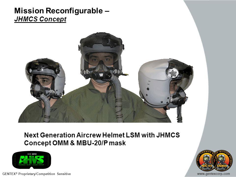 Mission Reconfigurable – JHMCS Concept