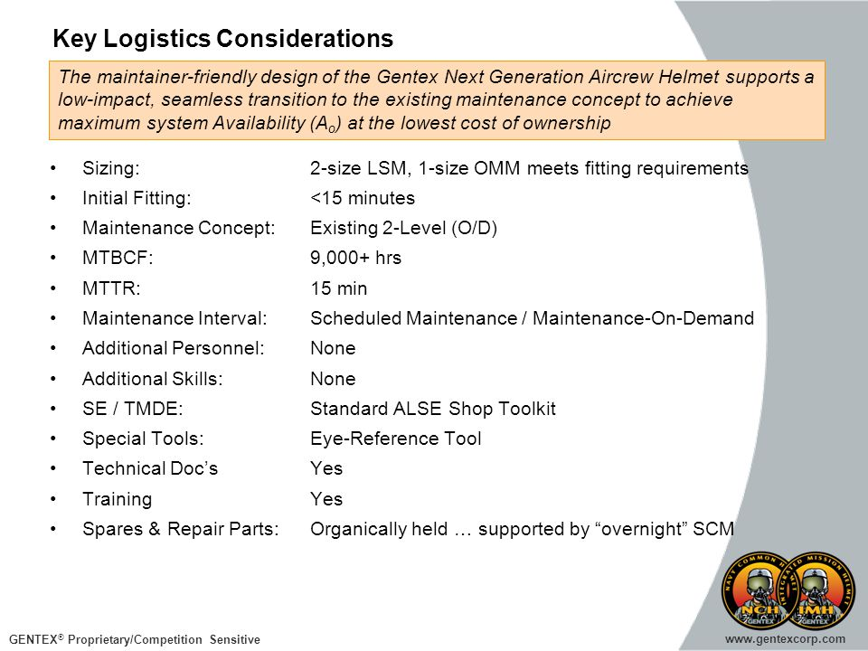 Key Logistics Considerations