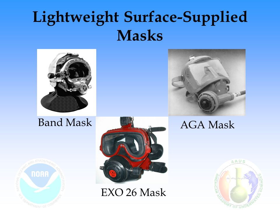 Lightweight Surface-Supplied Masks