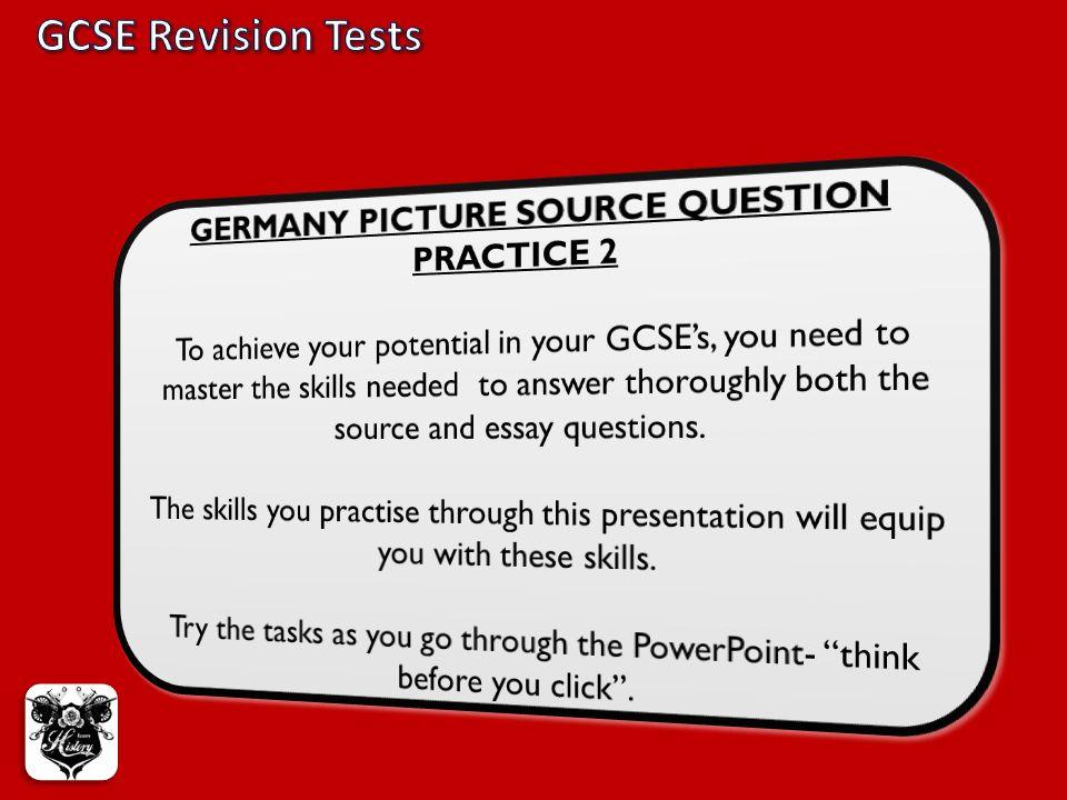 GCSE Revision Tests