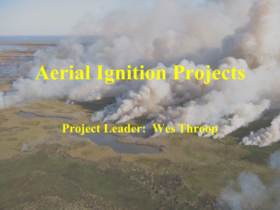 Aerial Ignition Projects