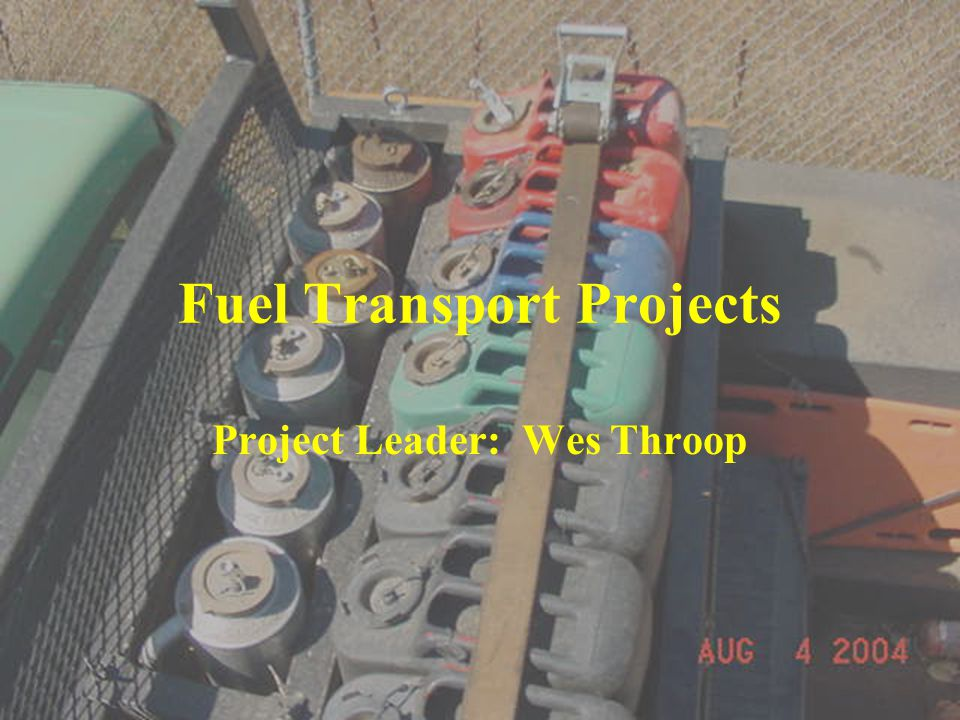 Fuel Transport Projects