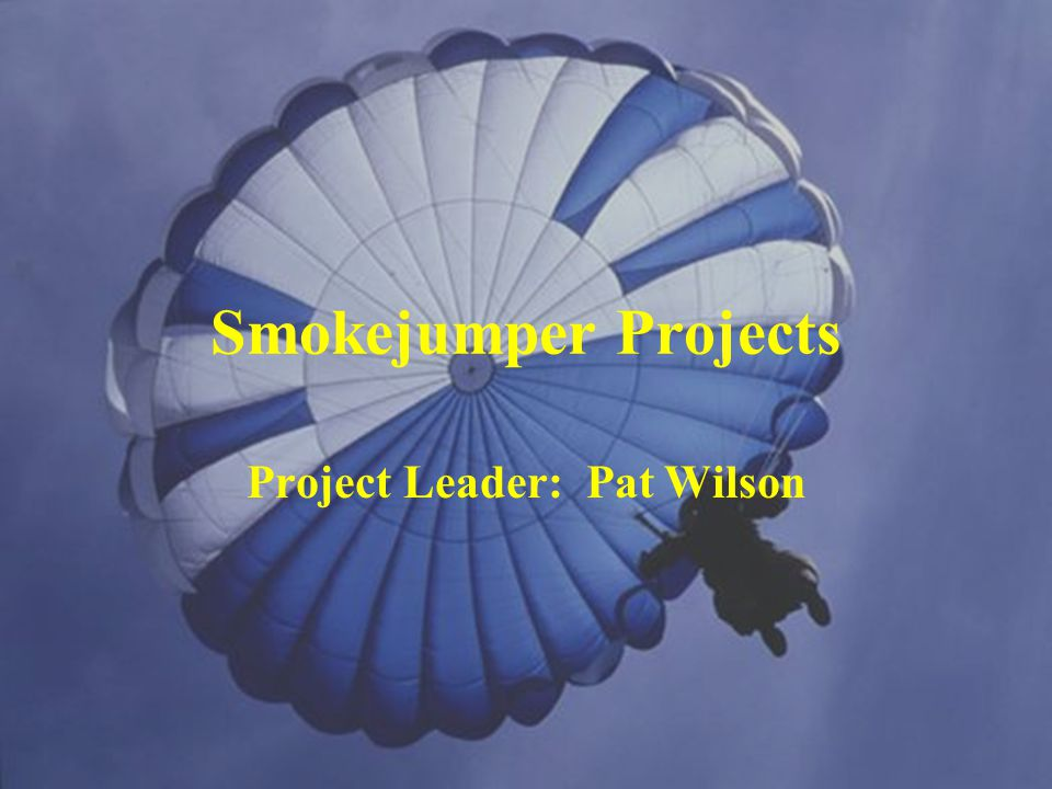 Project Leader: Pat Wilson
