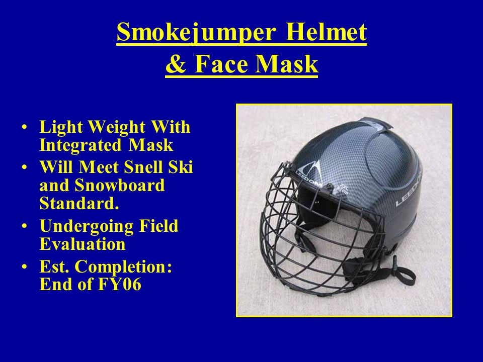 Smokejumper Helmet & Face Mask