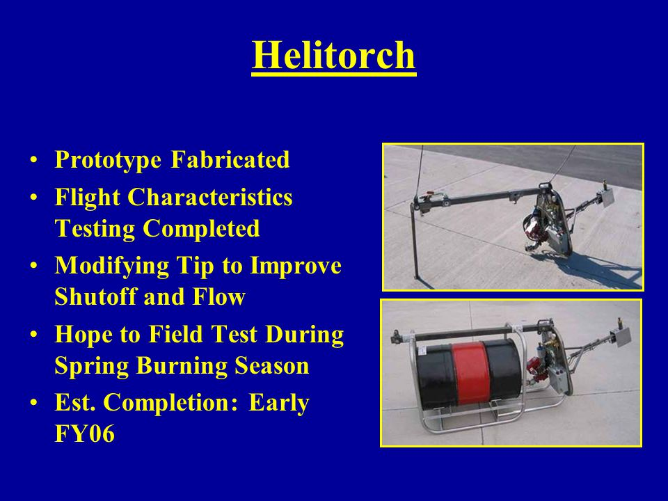 Helitorch Prototype Fabricated