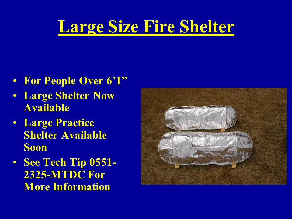 Large Size Fire Shelter