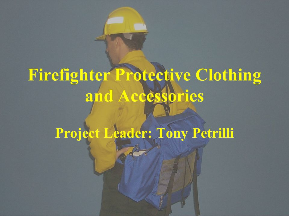 Firefighter Protective Clothing and Accessories