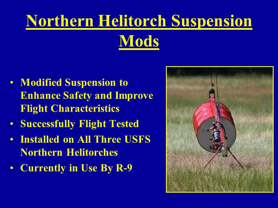 Northern Helitorch Suspension Mods