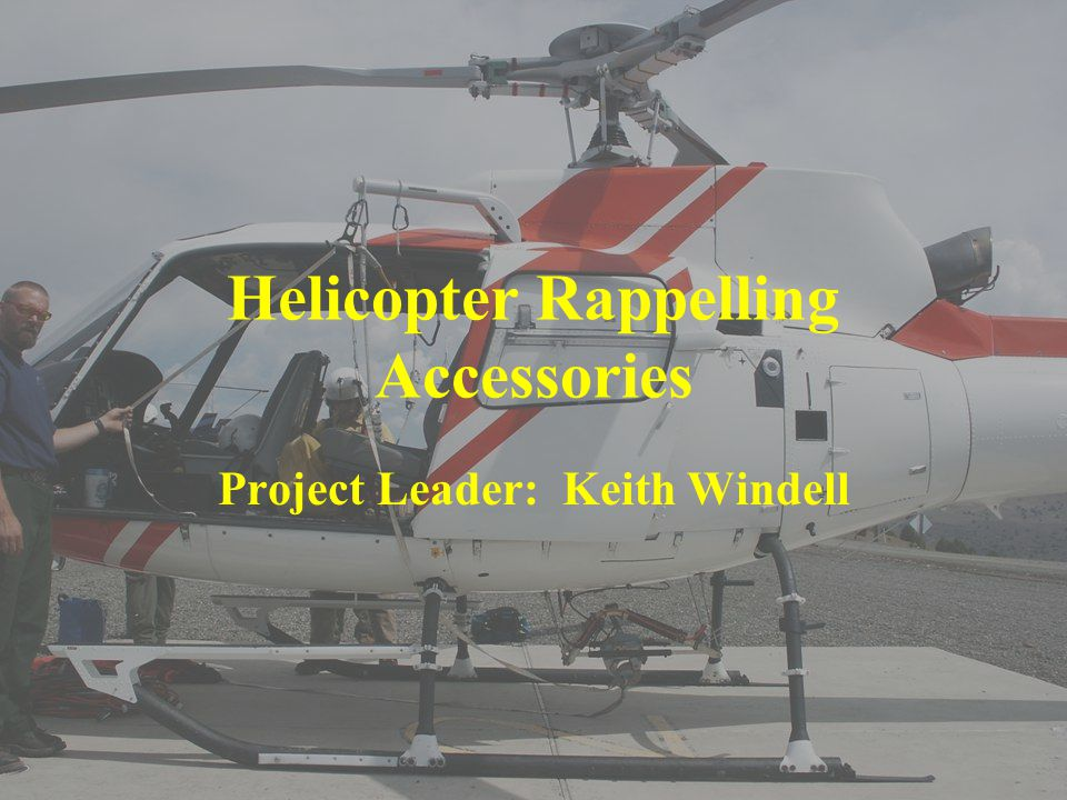 Helicopter Rappelling Accessories