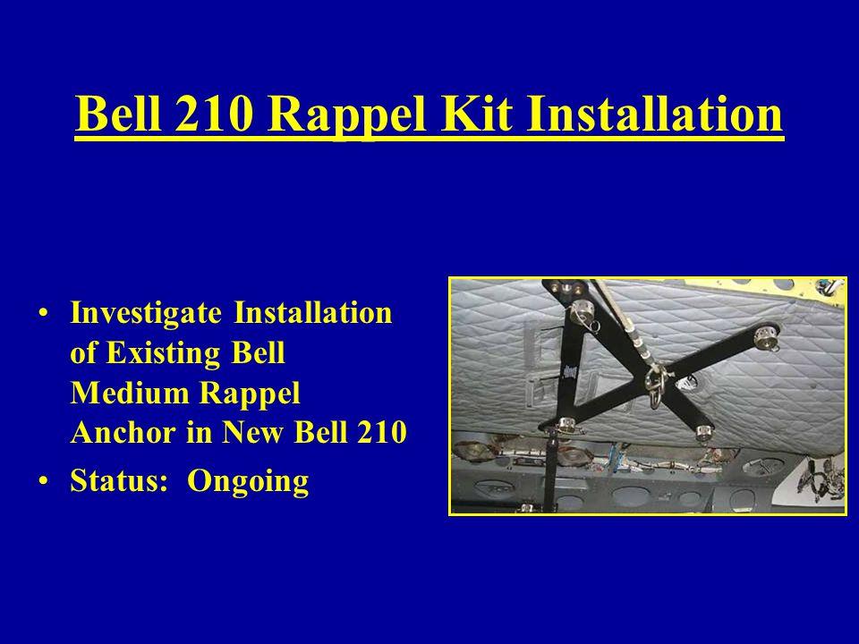 Bell 210 Rappel Kit Installation