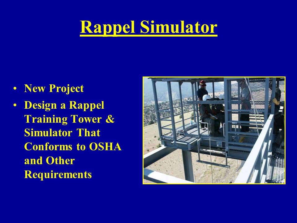 Rappel Simulator New Project