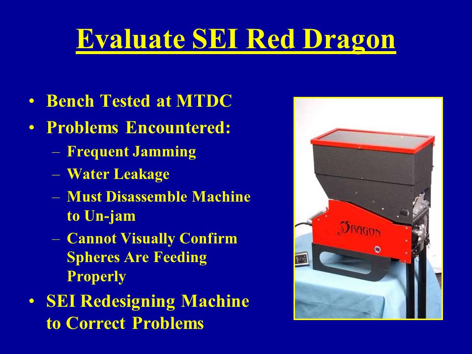 Evaluate SEI Red Dragon