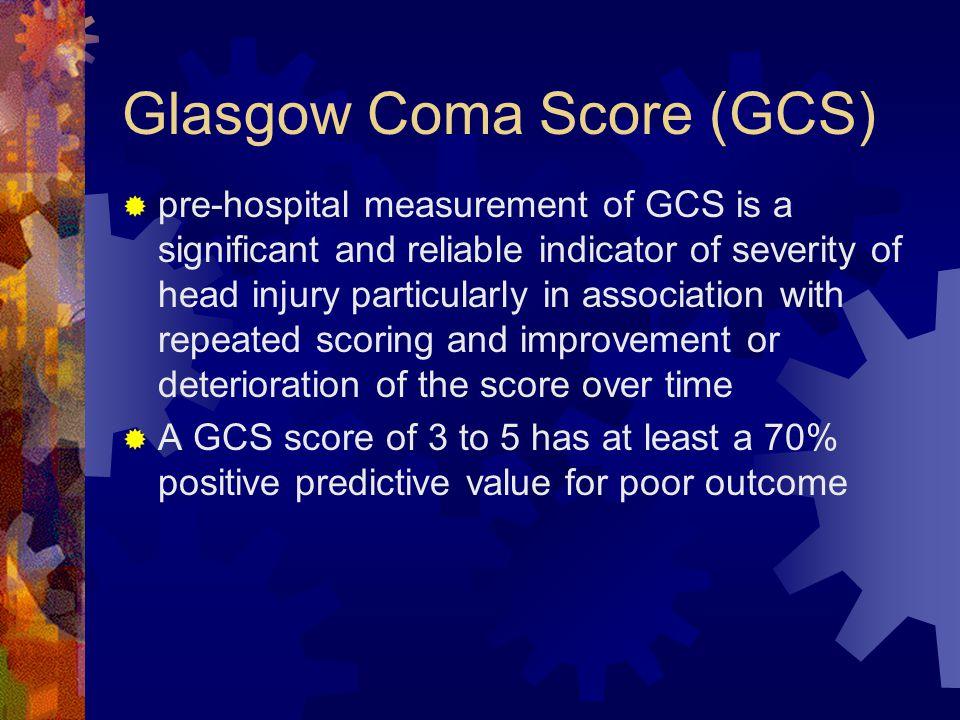 Glasgow Coma Score (GCS)