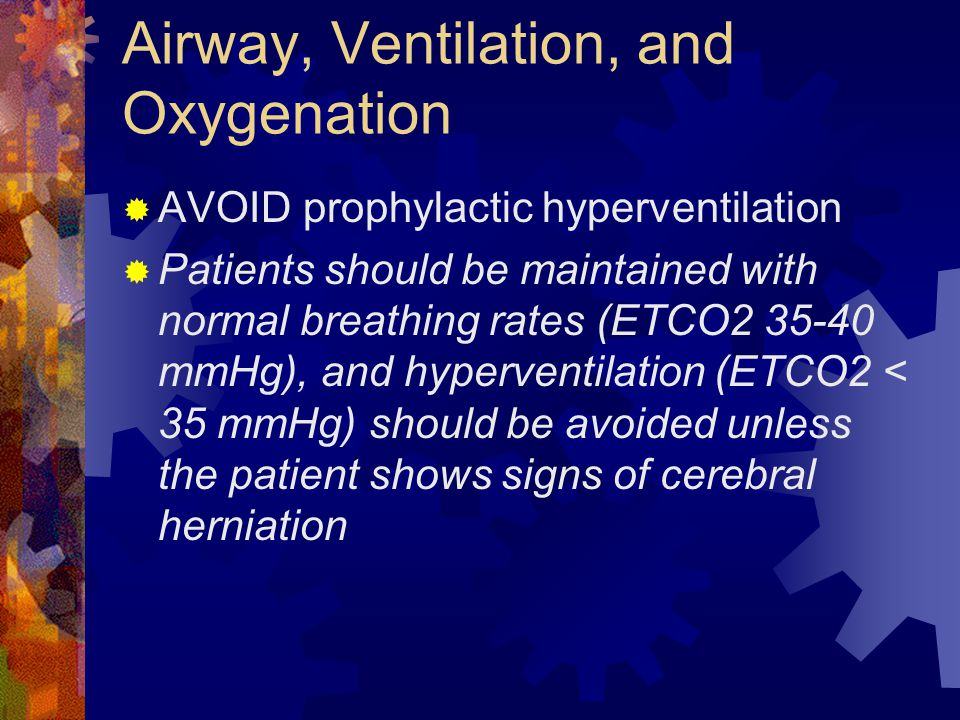 Airway, Ventilation, and Oxygenation