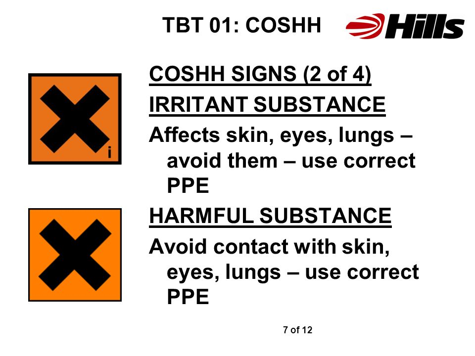 Affects skin, eyes, lungs – avoid them – use correct PPE