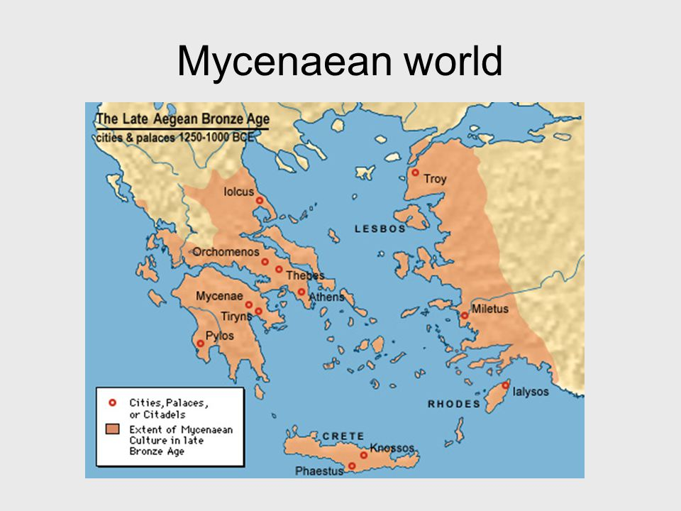 Mycenaean world