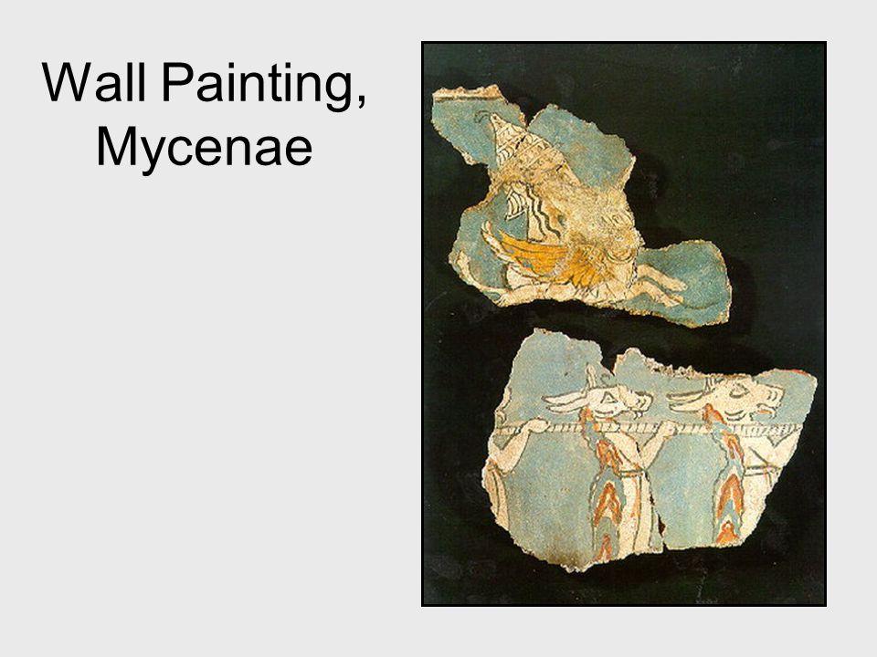 Wall Painting, Mycenae