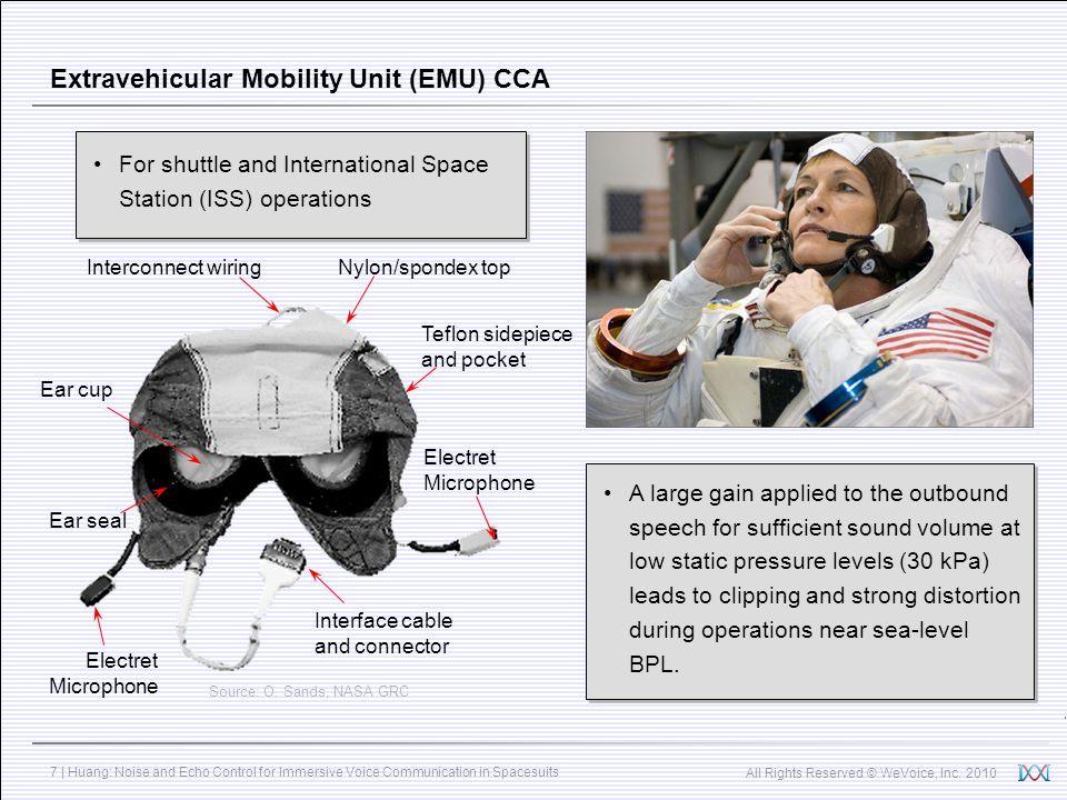 Extravehicular Mobility Unit (EMU) CCA