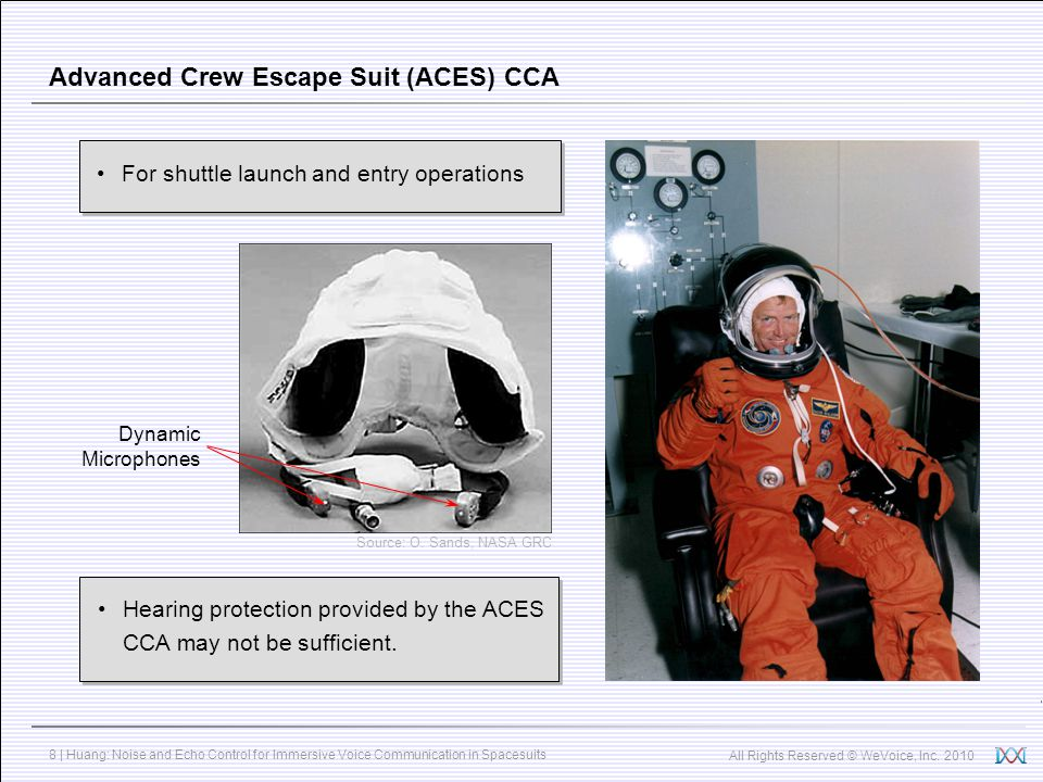 Advanced Crew Escape Suit (ACES) CCA